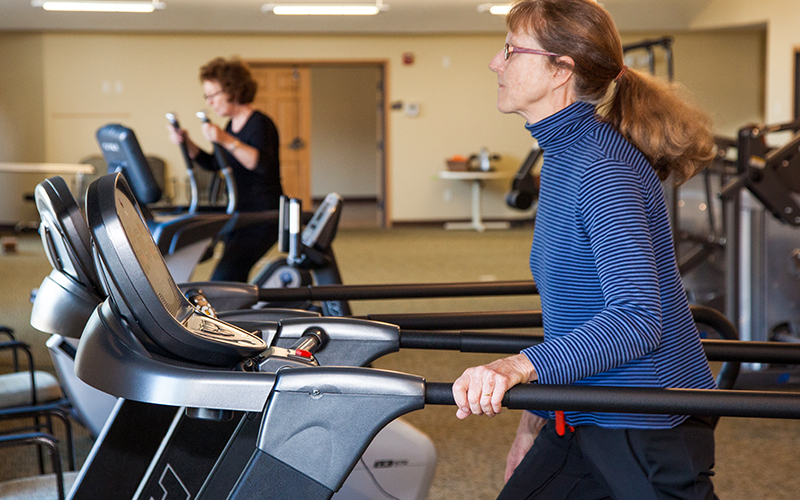 Fitness Center available at Progressive Care Center