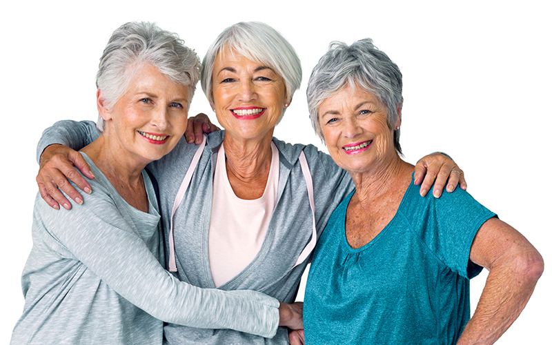 Physical Therapy women smiling