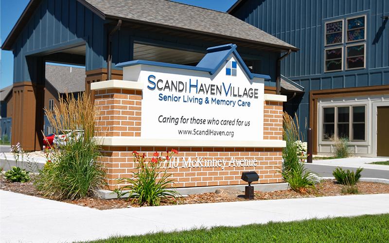 Scandi Haven Village Exterior