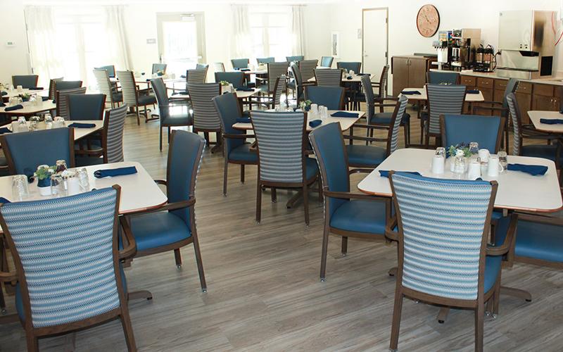 Scandi haven dining hall